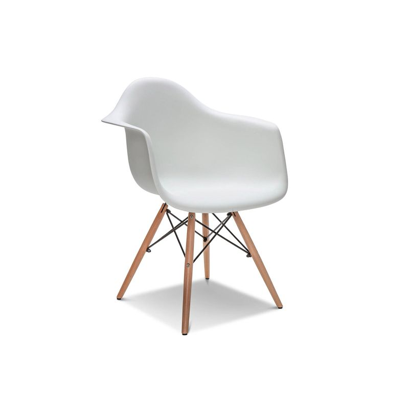 4x replica eames daw dining chairs in white buy eames dining chairs
