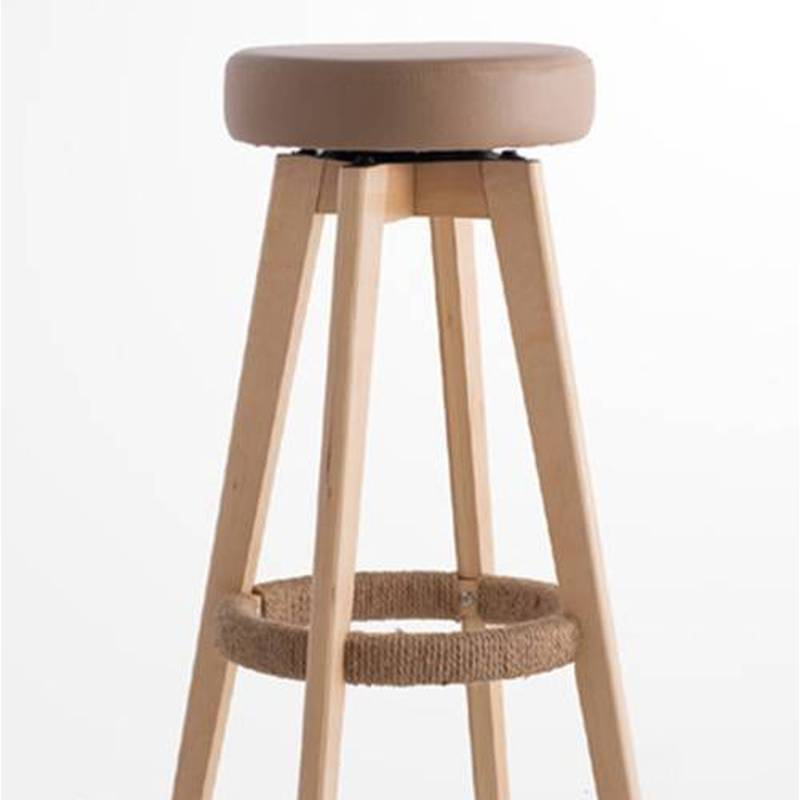 PU Leather Padded Wooden Swivel Bar Stool 65cm Buy  : 162978AM 078 65cm02 from www.mydeal.com.au size 800 x 800 jpeg 26kB