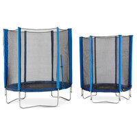 Plum 6ft Kids Trampoline with Enclosure in Blue