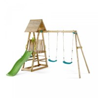 Plum Kids Outdoor Play Equipment w/ Swings Slide