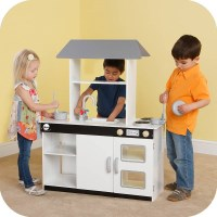 Plum Kids Wooden Toy Play Kitchen & Accessories