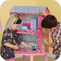 Plum Kids Camden Wooden Dollhouse & Accessories