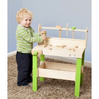 Plum Kids Wooden Educational Toy Tool Bench