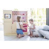 Plum Toys Wooden Interactive Cottage Play Kitchen