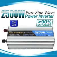 Pure Sine Wave Power Inverter 2500W/5000W 24V-240V