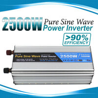 Pure Sine Wave Power Inverter 2500W/5000W 12V-240V