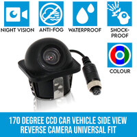 170 Degree Side View CCD Car Reversing Camera