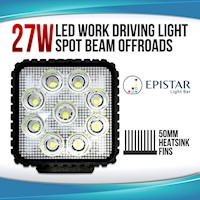LED Flood Beam Driving Work Light 12V/24V 4in