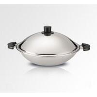 Buffalo Function Series 30cm Flat Bottom Wok