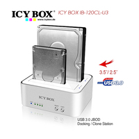 2 Bay Docking/Clone Station 2.5/3.5 Inch SATA HDDs