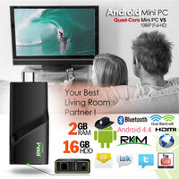 RKM V5 Quad Core 4K Mini PC 2G Ram/16G/Wifi/Andriod