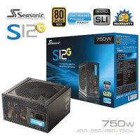 Seasonic S12G Series 750W Power Supply 80Plus