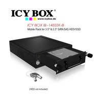 Icy Box Mobile Rack For 2.5/3.5 Inch SATA/HDD/SSD