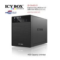 External 4-Bay JBOD System For 3.5 Inch SATA HDDs