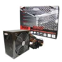 Powercase 650W PFC 120mm Fan Power Supply
