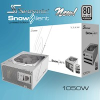 Seasonic Snowsilent 80+ Platinum Series 1050W PSU