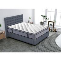 Double Size Comfort Euro Top Pocket Spring Mattress