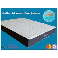 Half Queen Size Cool Gel Memory Foam  Mattress