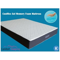King Size Deluxe Cool Gel Memory Foam Mattress