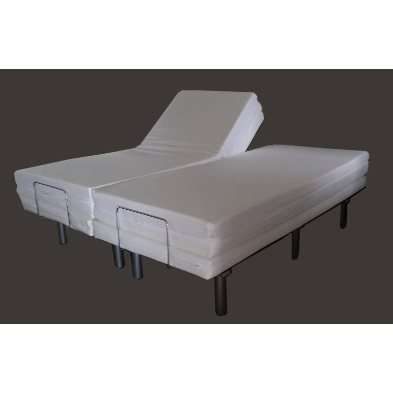 Adjustable Beds Queen Size Split : Electric bed frame massage adjustable split queen buy