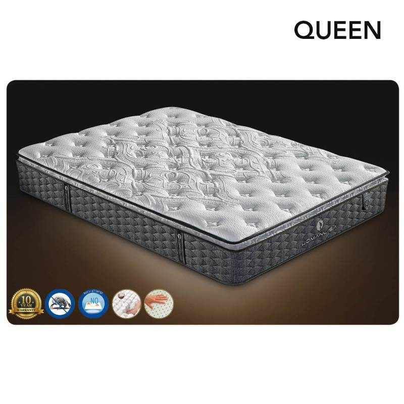 Queen Mattress Latex Micro Coil Pocket Spring Buy Euro Mattresses