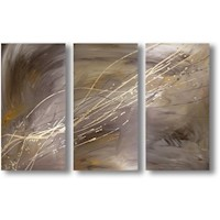 3 Canvas Abstract Painting #230