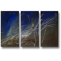 3 Canvas Abstract Painting #234