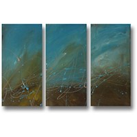 3 Canvas Abstract Painting #235