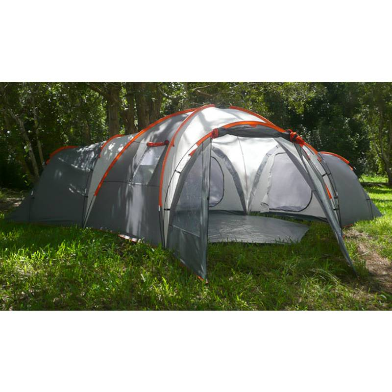 10 Man Family Camping Dome Tent with 4 Rooms | Buy Tents