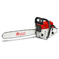 Yukon Petrol 2 Stroke Chainsaw w/ Case 52cc 20in