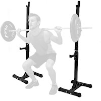 Barbell Curl, Bench Press Exercise Squat Rack Pair
