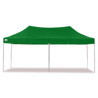 Wallaroo Folding Pop Up Marquee Gazebo Green 3x6m