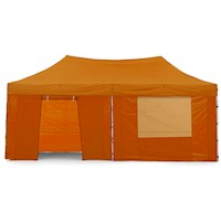 Wallaroo Folding Pop Up Marquee Gazebo Orange 3x6m