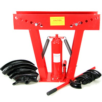 Portable Air Hydraulic Pipe Bender w/ 8 Dies 16 Ton