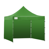 Wallaroo 3x3 Folding Marquee Pop Up Gazebo in Green