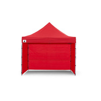 Wallaroo 3x3 Folding Marquee Pop Up Gazebo in Red