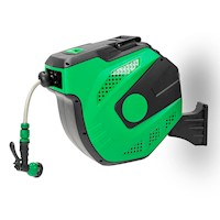 Wall Mounted Retractable Garden Water Hose Reel 30m