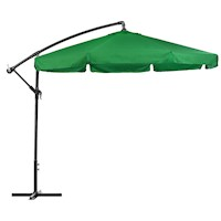 Cantilever Outdoor Market Patio Umbrella Green 3M