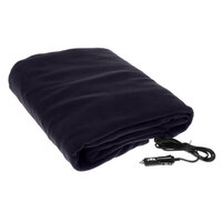 Car Travel Rug Heated Electric Blanket in Blue 12V
