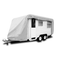 Reflective UV Treated Caravan Cover w/ Zip 23-26ft