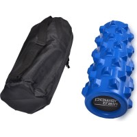 Extra Firm Grid Foam Roller in Light Blue 30x15cm