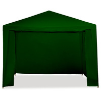 Outdoor Folding Pop Up Marquee Gazebo Green 3x3m