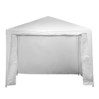 Outdoor Folding Pop Up Marquee Gazebo in White 3x3m