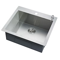 Laundry or Kitchen Sink Stainless Steel 530 x 500mm