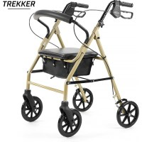 Orthonica Trekker Walking Frame Rollator Walker