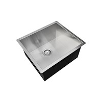 Laundry or Kitchen Sink Stainless Steel 440 x 440mm