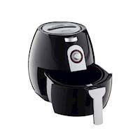 Pronti Air Fryer with Metal Stand in Black 3.5L