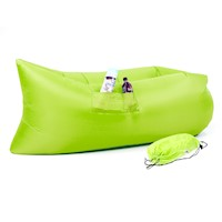 Wallaroo Inflatable Air Bed Lounge Sofa in Green