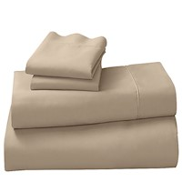 4 Piece Laura Hill King Size Sheet Set Linen 1000TC