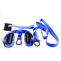 Powertrain Exercise Suspension Straps in Blue 3.4m